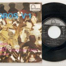 """Discos de vinilo: IGNACIO FERNANDEZ TOCA 7"""" SPAIN 45 SPANISH PS 1968 SINGLE VINILO ANDROS VOL. 1 EL CAÑAVERAL POP RARO. Lote 207381943"""