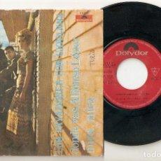 """Discos de vinilo: LOS PAYADORES CON GIOVANNA 7"""" SPAIN 45 SPANISH PS 1968 SINGLE VINILO DONDE VAS ALFONSO LOPEZ POP VER. Lote 207383040"""