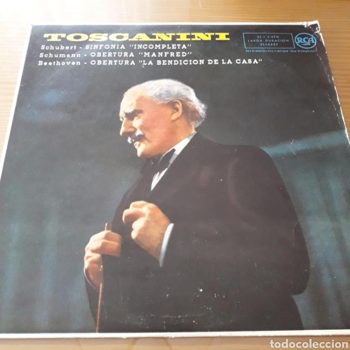 DISCO DE VINILO (LP) TOSCANINI (Música - Discos de Vinilo - Maxi Singles - Orquestas)