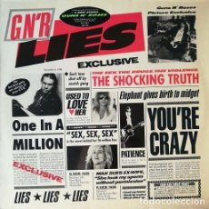 Discos de vinilo: GUNS N' ROSES - THE SPAGHETTI INCIDENT - 1ª EDICION ALEMANA LP - 1988 #. Lote 207387482