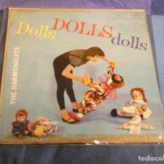 Discos de vinilo: LP ABSOLUTAMENTE PRECIOSO DOLLS DOLLS DOLLS POR THE HARMONICATS USA AÑOS 50. Lote 207393658