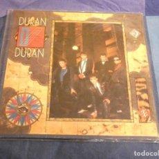 Discos de vinilo: LP DURAN DURAN SEVEN AND THE RAGGED TIGER UNA LINEA ESCANDALOSA PERO INOCUA EN UNA CARA. Lote 207394966