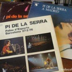 Discos de vinil: LOTE 3 LPS QUICO PI DE LA SERRA / PALAU - A MADRID / NO ES POSSIBLE EL QUE VISC - ENVIO GRATIS. Lote 207331843
