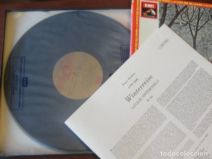 Discos de vinilo: CAJA 2 LPS + LIBRETO SCHUBERT WINTERREISE / FISCHER-DIESKAU / GERLAD MOORE - SIN USAR / - Foto 4 - 207333827