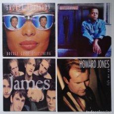 "Discos de vinilo: [[ LOTE 7"" 45RPM ]] GARLAND JEFFREYS / HOWARD JONES / JAMES / SMOKEY ROBINSON. Lote 207396492"