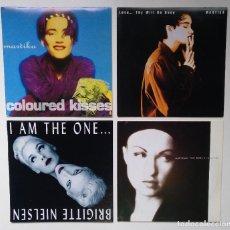 "Discos de vinilo: [[ LOTE 7"" 45RPM ]] MARTIKA / CYNDI LAUPER / BRIGITTE NIELSEN / MARTIKA -COLOURED KISSES. Lote 207397043"
