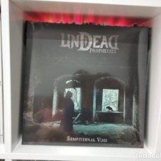 Discos de vinilo: UNDEAD PROPHECIES LP SEMPITERNAL VOID 2019 VINYL NEW.DEATH METAL NUEVO PRECINTADO. Lote 206405587