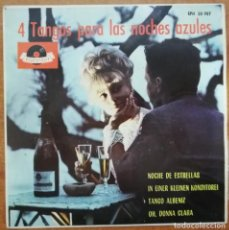Discos de vinilo: DISCO DE VINILO EP --4 TANGOS PARA LAS NOCHES AZULES. Lote 207421141