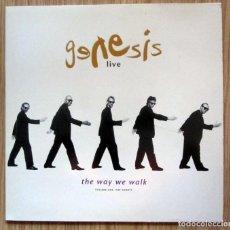 Discos de vinilo: GENESIS LIVE THE WAY WE WALK VOLUMEN ONE VIRGIN RECORDS LIMITED 1992. Lote 207425697