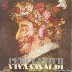 Discos de vinil: PERCY FAITH - VIVA VIVALDI /ESTABAMOS PASANDOLO MU BIEN EN EL CONSERVATORIO, CUANDO.... Lote 207428276