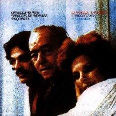 Dischi in vinile: ORNELLA VANONI-VINICIUS MORAES-TOQUINHO –LA VOGLIA LA PAZZIA L'INCOSCIENZA L'ALLEGRIA -LP SPAIN 1981. Lote 207430816
