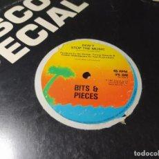 Discos de vinilo: MAXI - BITS & PIECES ?– DON'T STOP THE MUSIC ( VG / GENERICO ) UK. Lote 207434845