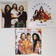 "Discos de vinilo: [[ LOTE 7"" 45RPM ]] ARMY OF LOVERS -CRUCIFIED / ARMY OF LOVERS / ARMY OF LOVERS -RIDE THE BULLET. Lote 207437333"