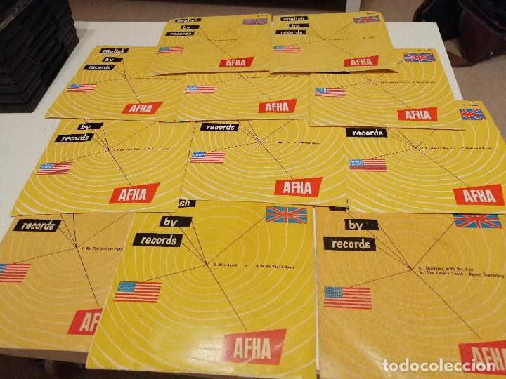 BAL-3 DISCO CHICO 7 PULGADAS CURSO ENGLISH BY RECORDS AFHA LOTE DE 11 DISCOS CHICOS LOS DE FOTO (Música - Discos - Singles Vinilo - Otros estilos)