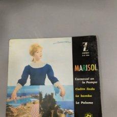 Discos de vinilo: MARISOL. Lote 207441933