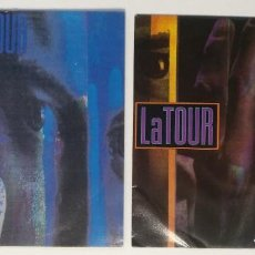 "Discos de vinilo: (LOTE 2 MAXIS) LA TOUR -PEOPLE ARE STILL HAVING SEX / LA TOUR -INVOLVED [[ LOTE 7"" 45RPM ]] DISCO 91. Lote 207444033"