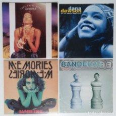 "Discos de vinilo: [[ LOTE 7"" 45RPM ]] KATHERINE E / DANA DAWSON / JAMIE DEE / BANDERAS. Lote 207445982"