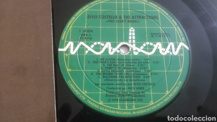 Discos de vinilo: Vinilo Elvis Costello - Foto 2 - 207451125