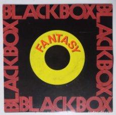"""Discos de vinilo: EXCLUSIVO RARO Y DIFÍCIL DE CONSEGUIR (BLACK BOX) WIND & FIRE -FANTASY [ LOTE 7"""" 45RPM ] 1990. Lote 207450085"""