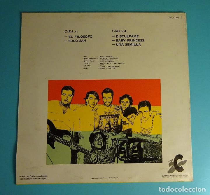 Discos de vinilo: JAH MACETAS. UNA SEMILLA. SOLO CARPETA SIN LP - Foto 2 - 207455096