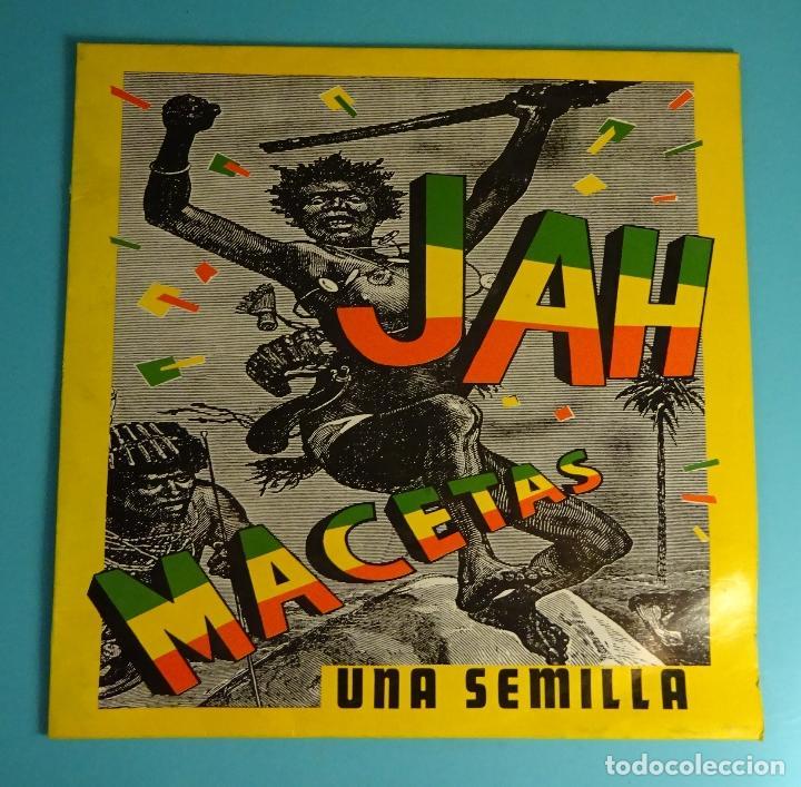 JAH MACETAS. UNA SEMILLA. SOLO CARPETA SIN LP (Música - Discos - LP Vinilo - Reggae - Ska)