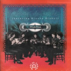 Discos de vinilo: ALMA DE NOCHE FEATURING DIANKA DIABATE ( MAMA / CATHEDRALE ) LP MAXISINGLE PHILIPS DE 1991 RF-7889. Lote 207456142
