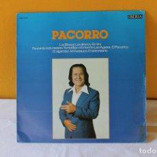 Discos de vinilo: LP PACORRO, LAS BREVAS. LOS DINEROS. EL RELOJ. IBERIA, 1979. Lote 207457956