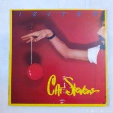 Discos de vinilo: CAT STEVENS. IZITSO. GATEFOLD. ISLAND 28824-I. ESPAÑA, 1977. FUNDA VG++. DISCO VG+.. Lote 207460066