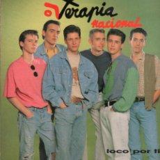 Disques de vinyle: TERAPIA NACIONAL - LOCO POR TI LP DE 1991 RF-7901 , PERFECTO ESTADO , CONTIENE ENCARTE. Lote 265116569