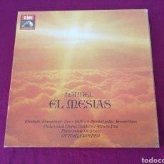 Discos de vinilo: HANDEL EL MESIAS. TRES DISCOS. Lote 207480570