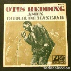 Discos de vinilo: OTIS REDDING (SINGLE 1968) AMEN - DIFICIL DE MANEJAR - HARD TO HANDLE. Lote 207484205