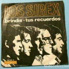 Discos de vinilo: LOS SIREX (SINGLE 1967) BRINDIS - TUS RECUERDOS. Lote 207490898