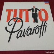 Discos de vinilo: TUTO PAVAROTTI. DOBLE DISCO. Lote 207492411