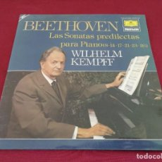 Discos de vinilo: BEETHOVEN. LAS SONATAS PREDILECTAS. DOBLE DISCO. Lote 207493025
