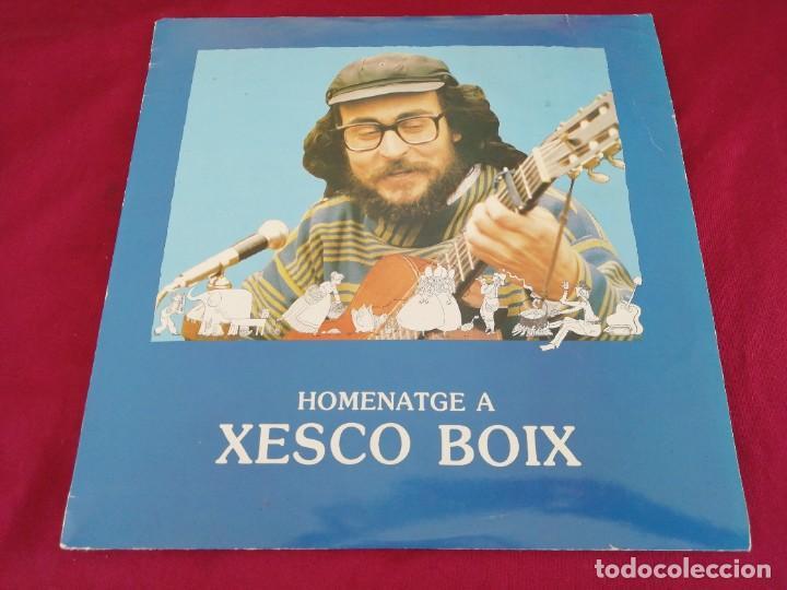 HOMENATGE A XESCO BOIX. DOBLE DISCO (Música - Discos - LP Vinilo - Otros estilos)