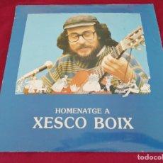 Disques de vinyle: HOMENATGE A XESCO BOIX. DOBLE DISCO. Lote 207493281