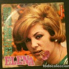 Discos de vinilo: ELENA (SINGLE 1968) UNA EXTRAÑA CANCION - TANTO COMO SIEMPRE. Lote 207493768