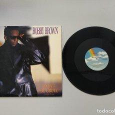 Dischi in vinile: 0620- BOBBY BROWN 12 SINGLE DONT BE CRUEL 1988 USA VIN POR VG ++ DIS M. Lote 207499573