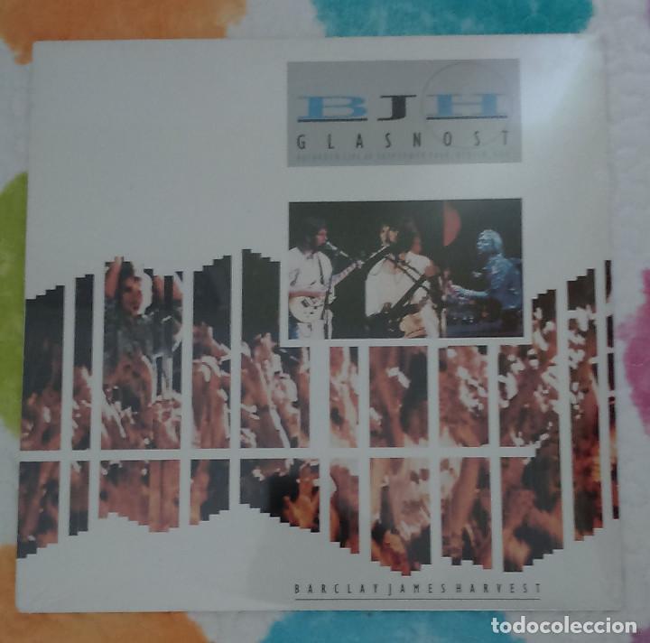 BJH - BARCLAY JAMES HARVEST (GLASNOST) LP 1988 (Música - Discos - LP Vinilo - Pop - Rock Extranjero de los 90 a la actualidad)