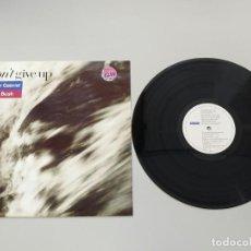 Discos de vinilo: 0620- DONT GIVE UP PETER GABRIEL KATE BUSH SINGLE UK 1986 VIN POR VG++ DIS NM. Lote 207500305