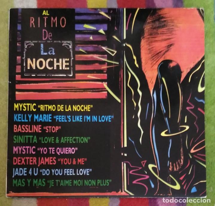 AL RITMO DE LA NOCHE - LP 1991 (MYSTIC - JADE 4U - KELLY MARIE - SINITTA.....) (Música - Discos - LP Vinilo - Pop - Rock Extranjero de los 90 a la actualidad)