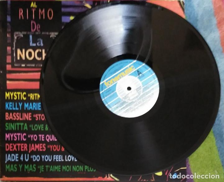 Discos de vinilo: AL RITMO DE LA NOCHE - LP 1991 (MYSTIC - JADE 4U - KELLY MARIE - SINITTA.....) - Foto 3 - 207500392