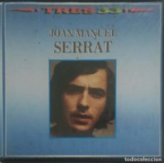 Discos de vinilo: JOAN MANUEL SERRAT (TRES 33) BOX 3 LP'S 1985 - DISCOS VG + CAJA VG. Lote 207518107