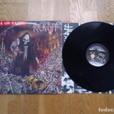 Discos de vinilo: VINILO FUCK OFF – HELL ON EARTH. ORIGINAL 1990.. Lote 207526302