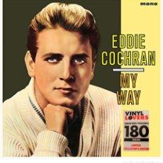 Discos de vinilo: EDDIE COCHRAN *LP VIRGIN VINYL 180G. * MY WAY +2 BONUS * LIMITED COLLECTOR'S EDITION * PRECINTADO. Lote 207430592