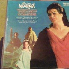 Discos de vinilo: BELLINI NORMA. VINILO. 3 DISCOS.. Lote 207534111
