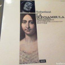 Discos de vinilo: BELLINI. LA SONAMBULA. SUTHERLAND. VINILO. 3 DISCOS.. Lote 207534366