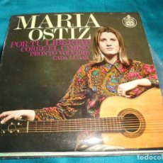 Discos de vinilo: MARIA OSTIZ. POR TU LIBERTAD + 3. EP. HISPAVOX, 1968. SPAIN. Lote 207537523