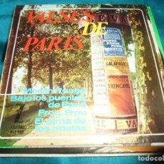 Discos de vinilo: VALSES DE PARIS. MOULIN ROUGE + 3. EP. ZAFIRO, 1964. SPAIN. Lote 207538195