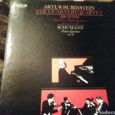 Discos de vinilo: ARTUR RUBINSTEIN. THE GUARNERI QUARTET. VINILO. 3 DISCOS.. Lote 207538493